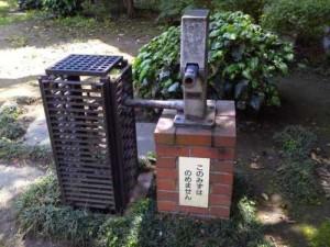 公園にある井戸