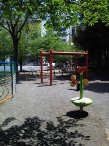坂本町公園の遊具