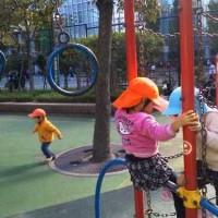 蛎殻町公園の遊具