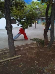 幼児用のスベリ台